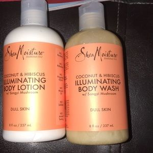 Accessories - Shea moistures body lotion and body wash